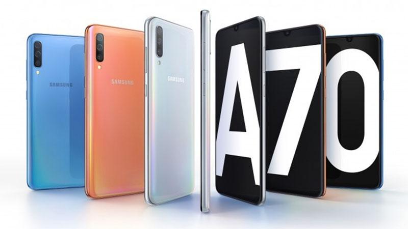 Samsung Galaxy A70 é lançado oficialmente