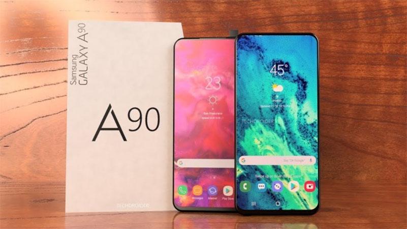 Samsung Galaxy A90 deve chegar com tela infinita e sem entalhe