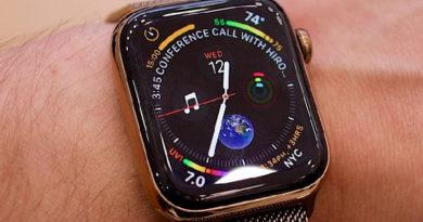 Apple Watch Series 5 pode ser lançado com sensor de movimento