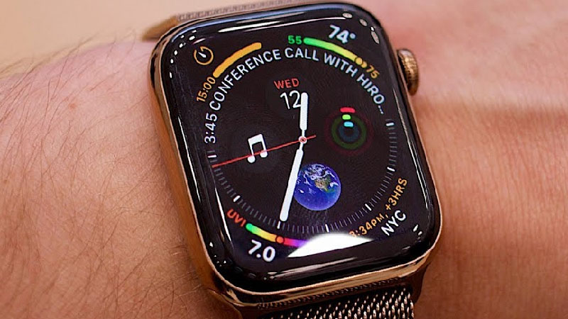 Apple Watch Series 5 pode ser lançado com sensor de movimento
