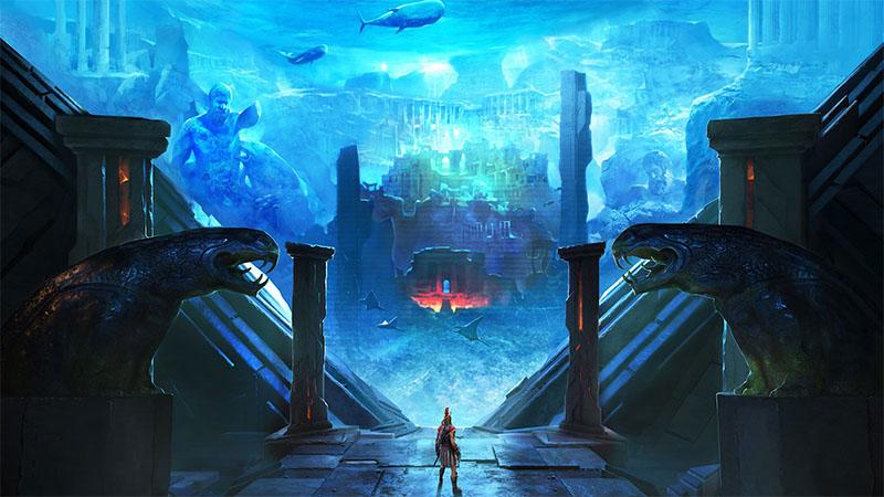 """DLC """"O Destino de Atlântida"""" chega a Assassin's Creed Odyssey em 23 de abril"""