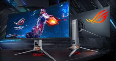 Asus lança monitor G-Sync ultra largo de 34 polegadas