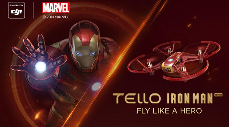 Empresa anuncia drone com visual igual do homem de ferro