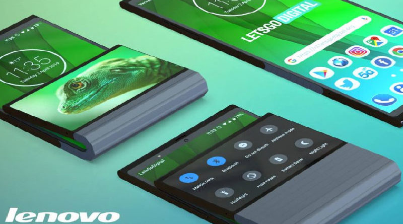Patente da Lenovo revela smartphone dobrável com duas telas