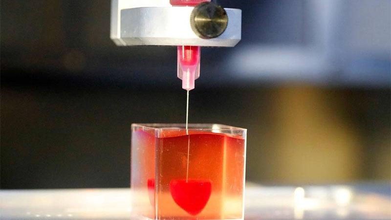 Pesquisadores usam impressora 3D pra imprimir coração humano