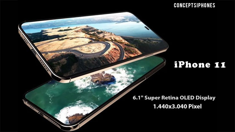 Veja um vídeo conceitual do iPhone 11 sem entalhe