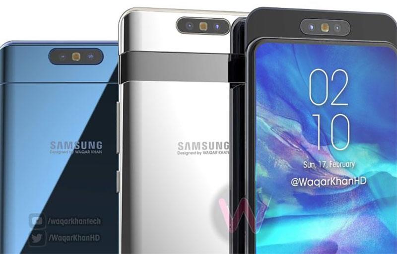 Waqar Khan apresenta vídeo conceitual do Samsung Galaxy A90 com câmera deslizante e rotativa