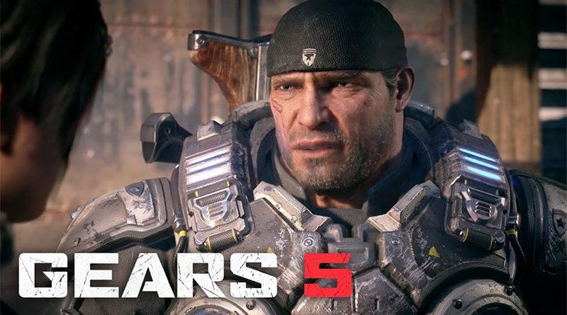 Gears of War 5 lançamento