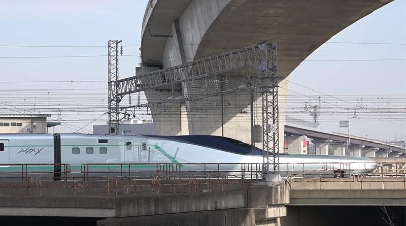Japão está testando o trem bala mais rápido do mundo