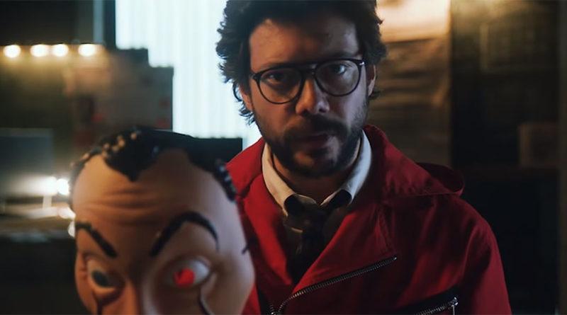 """""""Professor"""" revela motivo do retorno de seu grupo em novo vídeo de La Casa de Papel"""