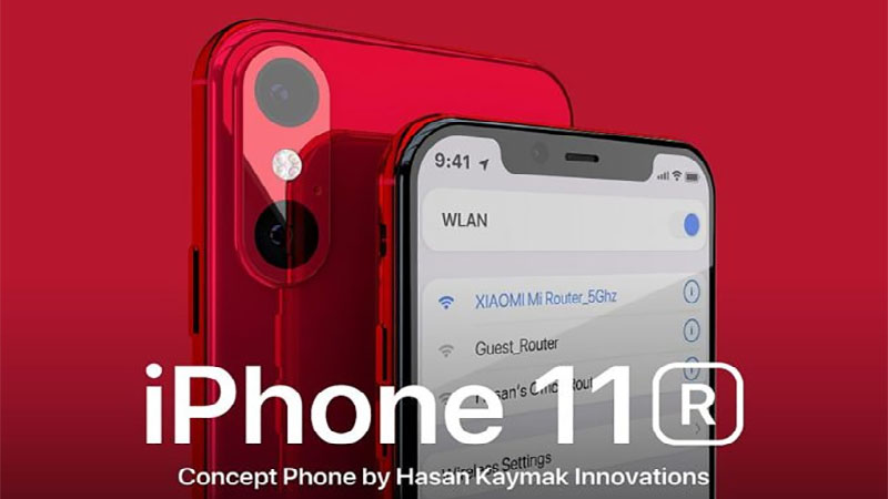iPhone 11R surge em vídeo conceitual com visual fantástico