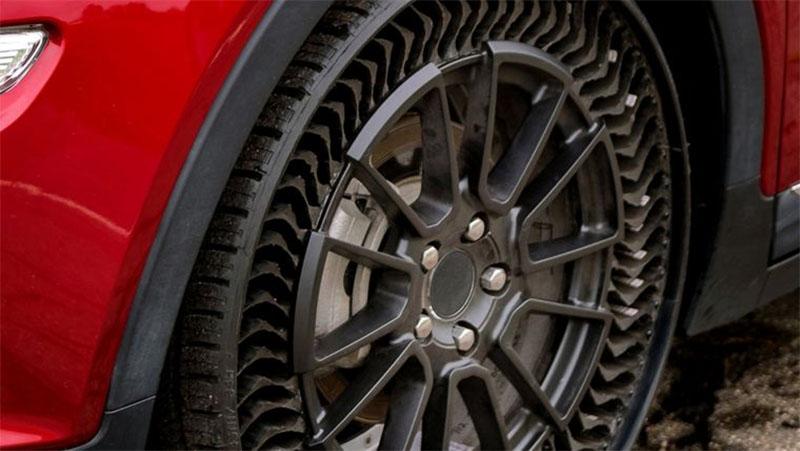 Michelin e GM pretendem desenvolver pneus sem ar