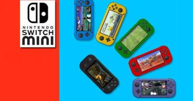 Mini Nintendo Switch pode estar a caminho