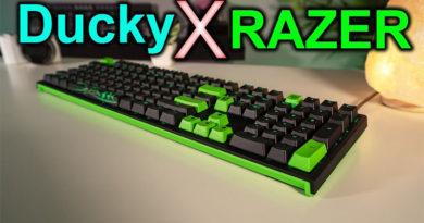 Razer e Ducky se unem para desenvolver teclado top de linha