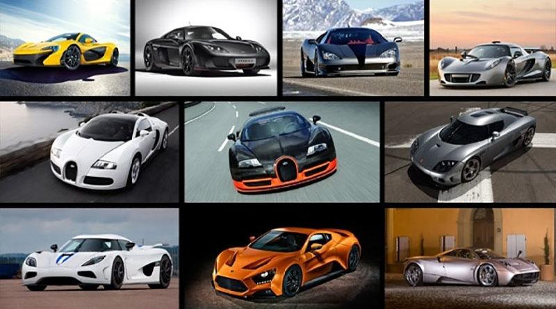 Conheça os carros mais rápidos do mundo