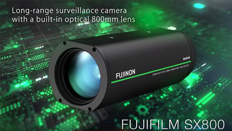 Fujifilm lança câmera de vigilância com zoom óptico de 40 vezes