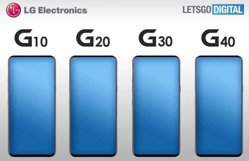 G10, G20, G30 e G40 são os novos membros da série G