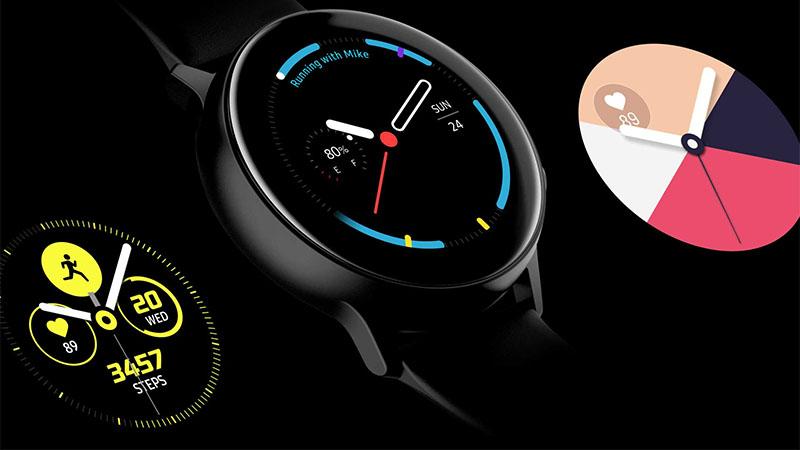 Galaxy Watch Active 2 aparece em vários sites com um belo design