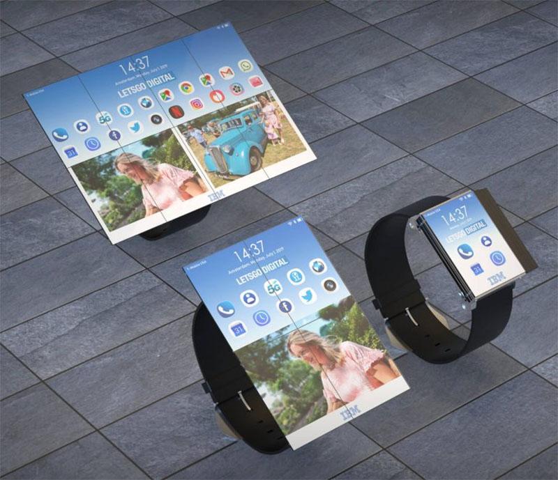IBM apresenta conceito de smartwatch que se transforma em smartphone e tablet