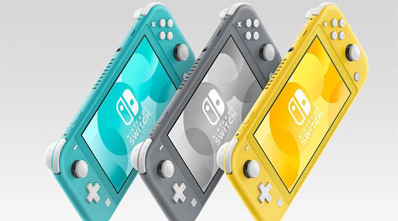 Nintendo Switch Lite tem lançamento previsto para 20 de setembro
