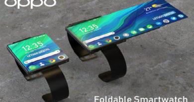 Smartphone dobrável da Oppo pode ser mais do que um relógio inteligente
