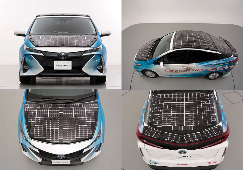 Toyota testa carro elétrico com teto solar que poderá carregar as baterias do veículo enquanto estiver em movimento