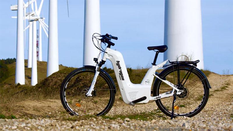 Alter Bike é a primeira bicicleta elétrica do mundo com célula de hidrogênio