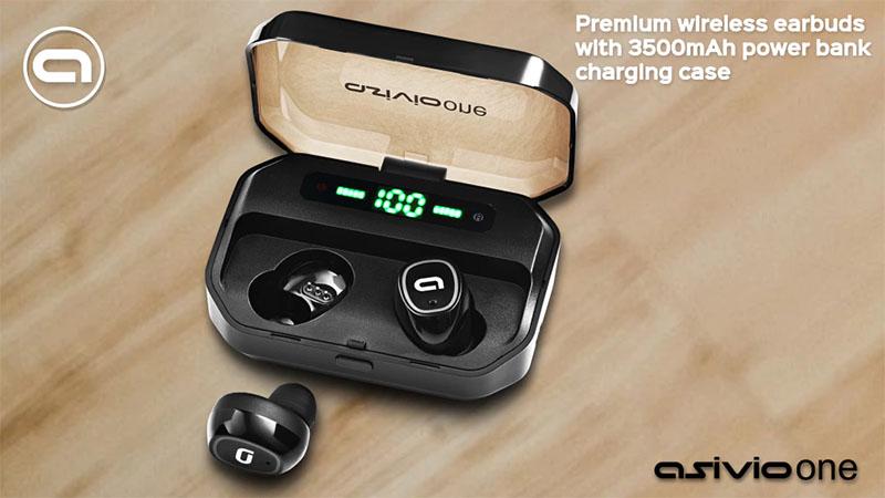 Asivio One - Fones de ouvidos sem fio com autonomia de até 160 horas