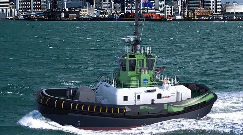 Damen RSD-E Tug 2513 é o primeiro rebocador elétrico do mundo