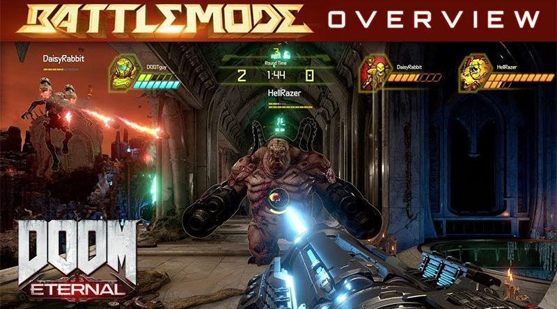 """""""BattleMode"""", nova modalidade de Doom Eternal é destaque no novo trailer do jogo"""