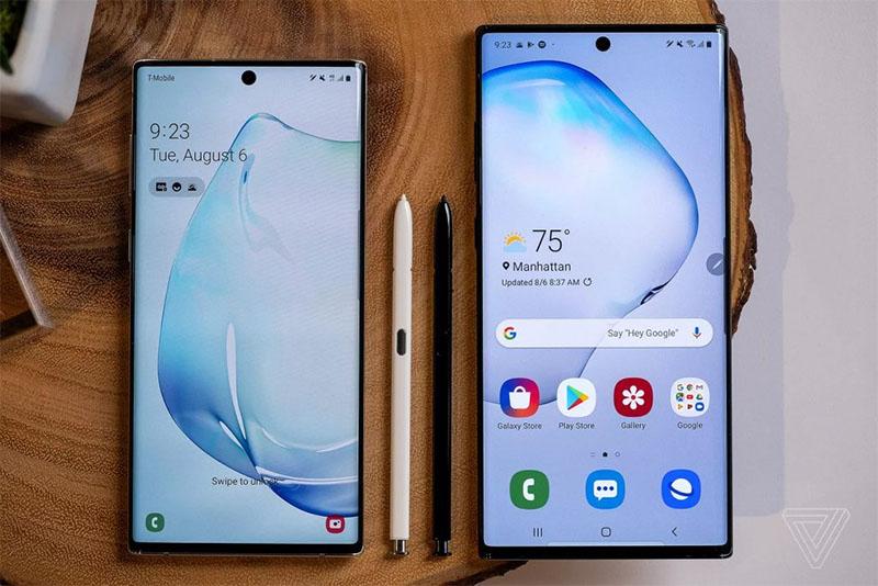 Galaxy Note 10 e 10+ é lançado oficialmente pela Samsung