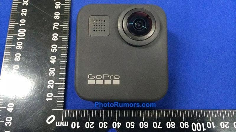 Imagem aponta que a GoPro Max pode estar a caminho