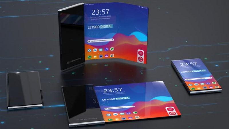 LG apresenta patente de smartphone rolável com duas telas