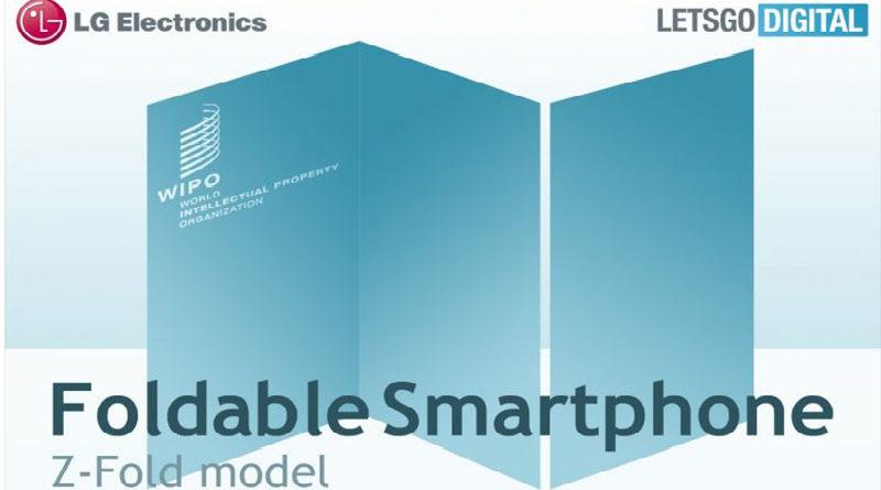 LG registra patente de smartphone com duas tela em formato de dobra Z