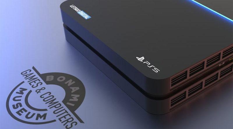 Nova patente da Sony mostra PS5 com design robusto, vários pontos de conexão e ventilação