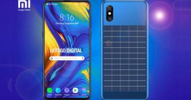 Patente da Xiaomi sugere smartphone com painel solar como forma de manter a bateria sempre cheia