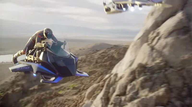 Speeder - Essa moto voadora pode atingir velocidade de até 150 Kmh em pleno ar
