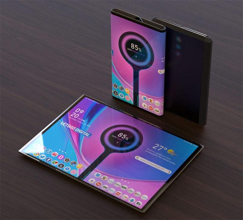 Xiaomi apresenta patente de Smartphone dobrável com três câmeras