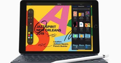 Apple lança iPad de 10,2 polegadas