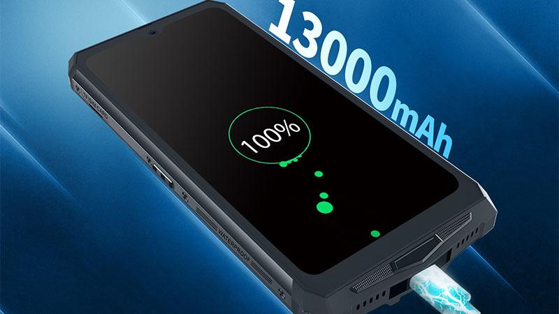 Blackview BV9100 possui a maior bateria do mundo