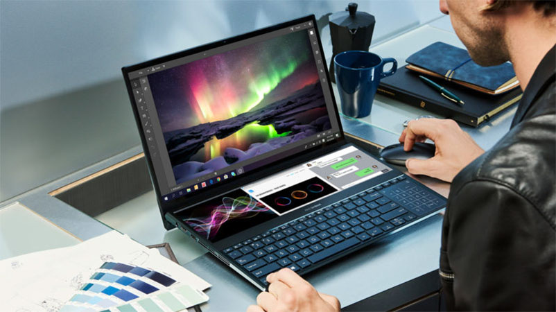 Conheça o Asus ZenBook Pro Duo, laptop que possui duas telas e especificações top de linha
