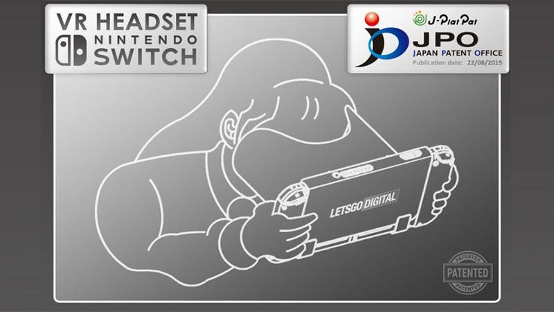 Headset Switch VR da Nintendo pode ser lançado em breve