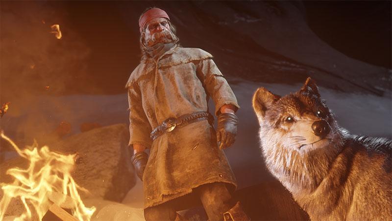 Homen-lobo Red Dead Online