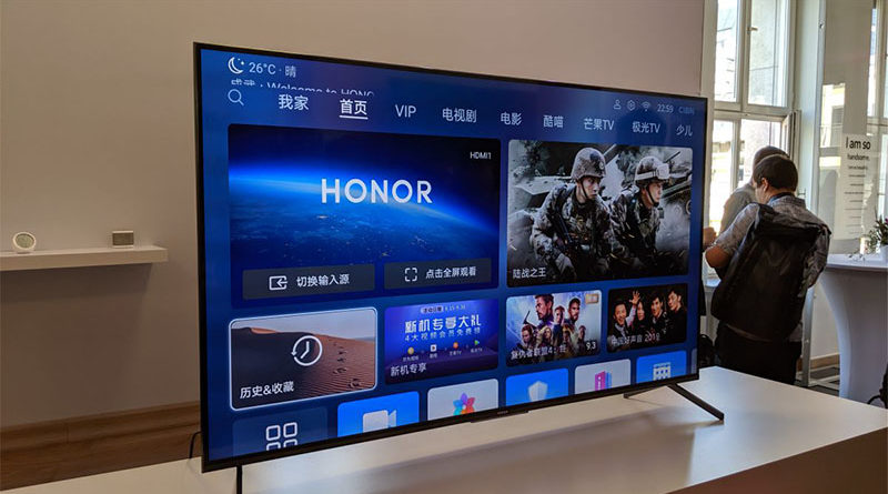 Huawei anuncia SmarTV Honor Vision com HarmonyOS na IFA 2019