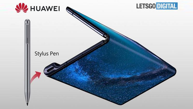 Huawei possui patente de Mate X 2 dobrável com caneta stylus