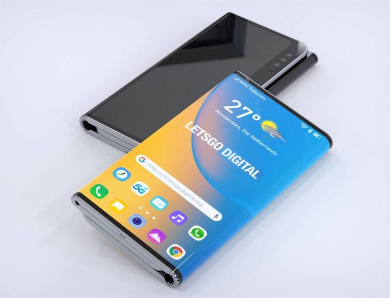 LG apresenta patente de Smartphone dobrável duplo com caneta Stylus