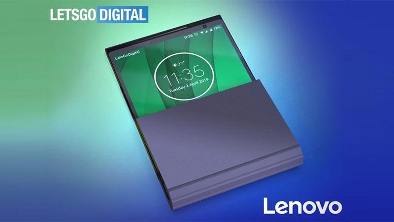 Lenovo apresenta novo conceito de smartphone dobrável