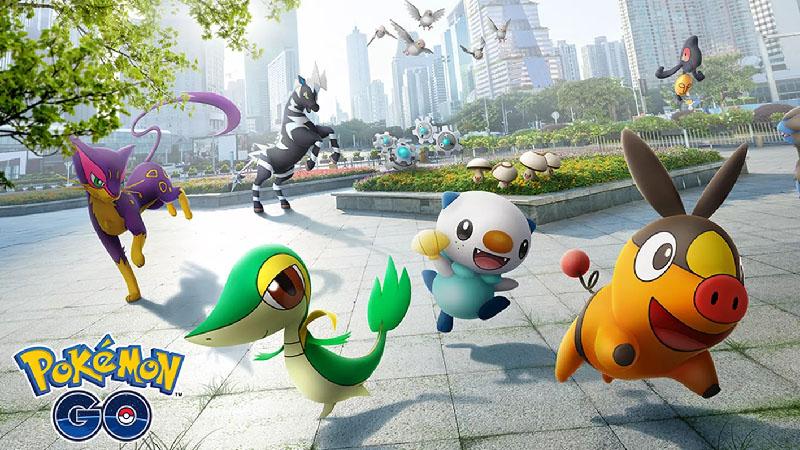 Pokémon GO-Quinta Geracao