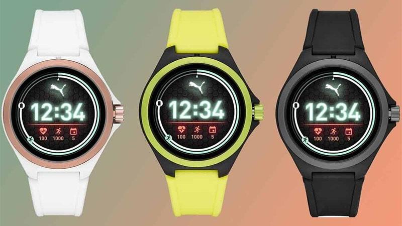 Puma lança seu primeiro smartwatch com sistema Wear OS