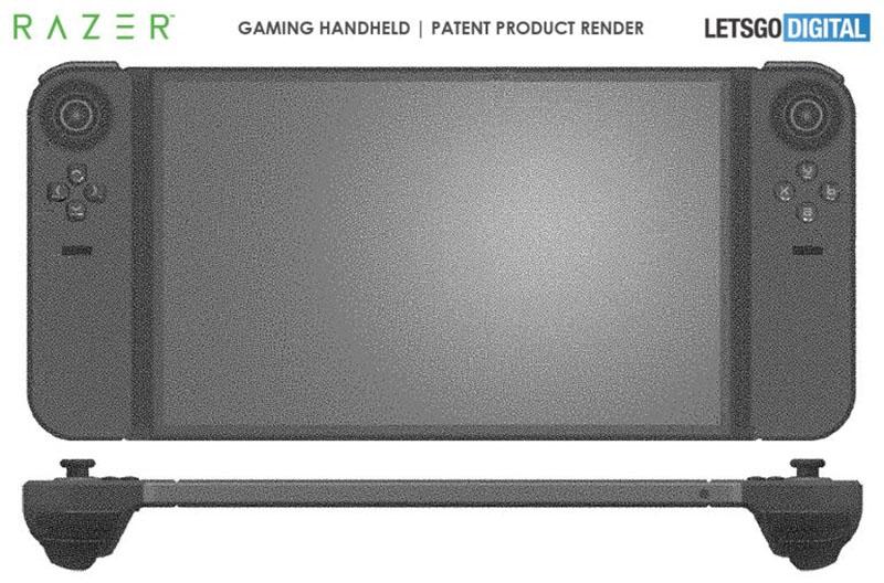 Razer apresenta patente de clone de Nintendo Switch com controles Joy-con